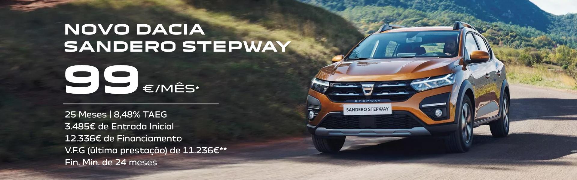 Campanha Dacia Sandero Stepway